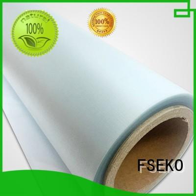 FSEKO popular embossed plastic film high quality for menu