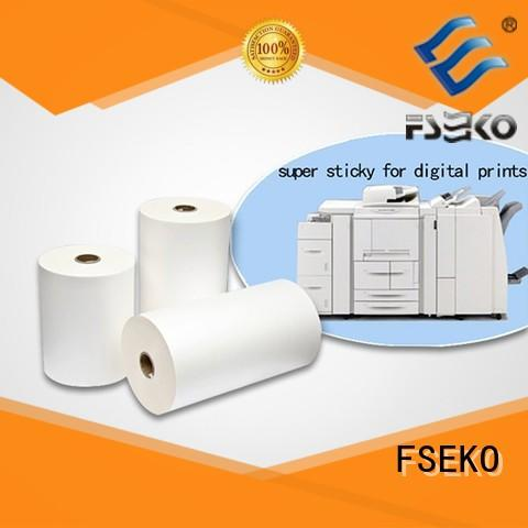 FSEKO high quality scotch laminating film China for menu
