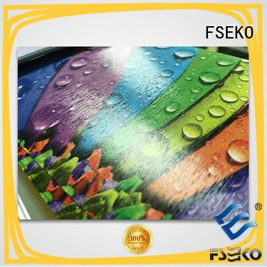 high quality embossing film plm for poster FSEKO
