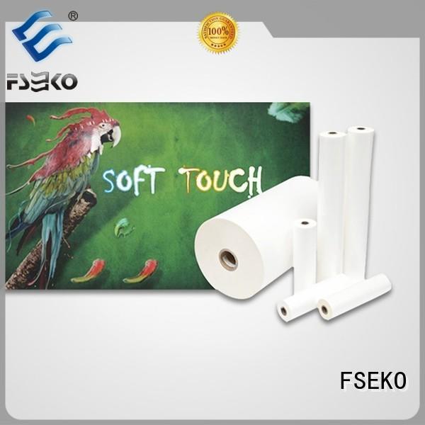 FSEKO Brand lamination supplier custom glossy lamination film