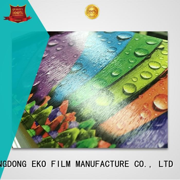FSEKO Brand low pem embossing film pgm factory