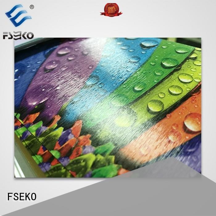 leather decoration embossed plastic sheet FSEKO Brand