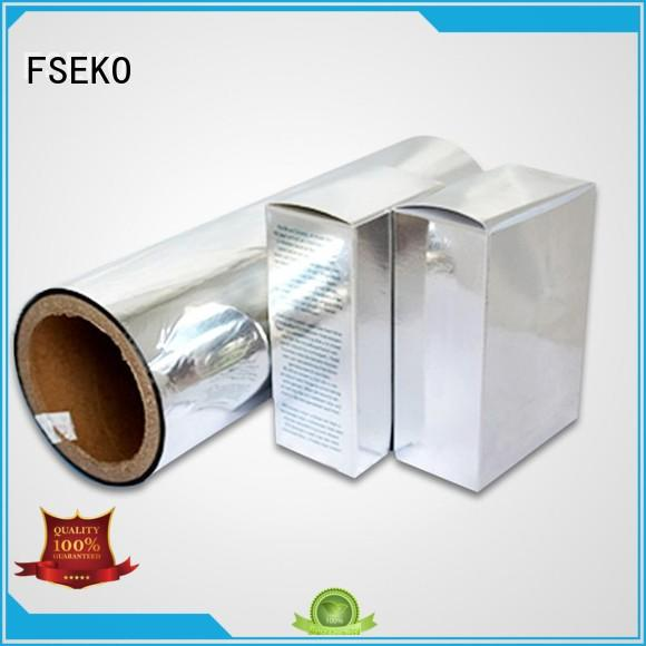 FSEKO Brand thermal pet metallised pet film