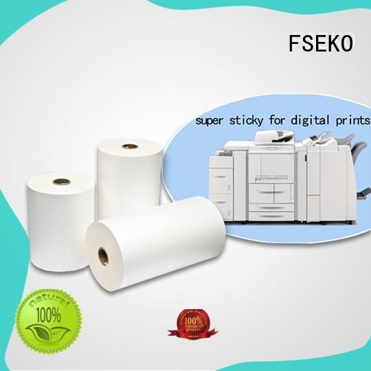 FSEKO Digital Laminating Film wholesale for bags
