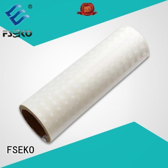 high quality holographic film material designed for book cover FSEKO