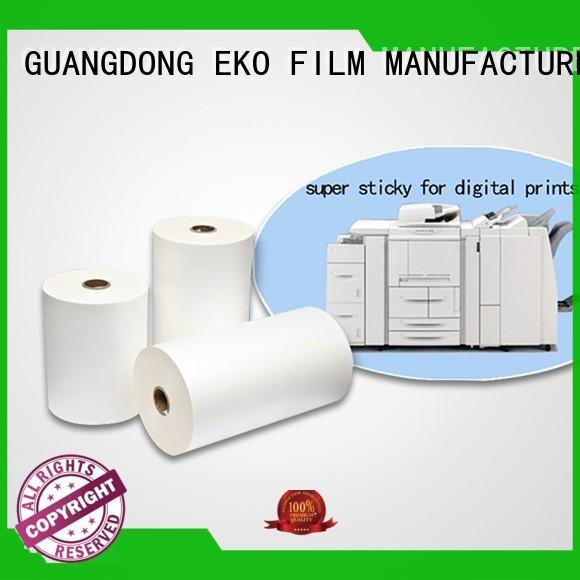 sticky lamination glossy FSEKO Brand thermal Lamination Film Prices factory