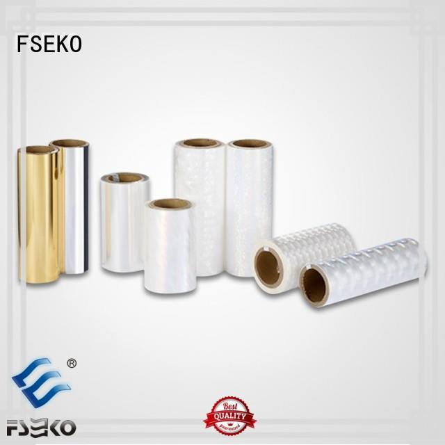 FSEKO Brand sale lamination hot stamping foil suppliers manufacture