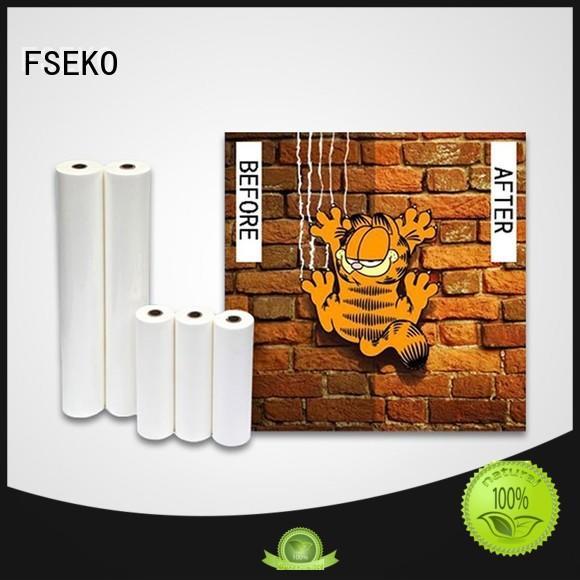 hot sale anti scratch film supplier for menu FSEKO