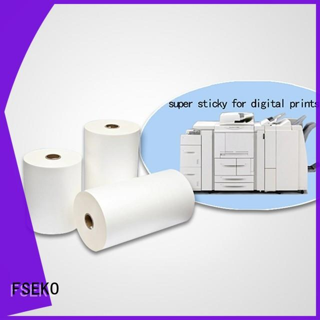 FSEKO High-quality double sided self laminating sheets factory fo box