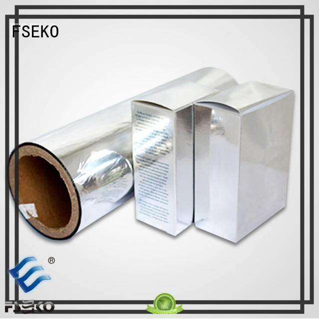 most sale metallised pet film pet FSEKO company