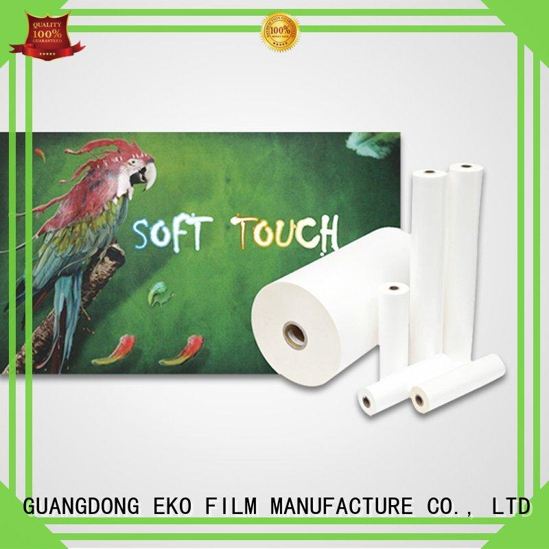 velvet Custom sale soft touch lamination suppliers touch FSEKO