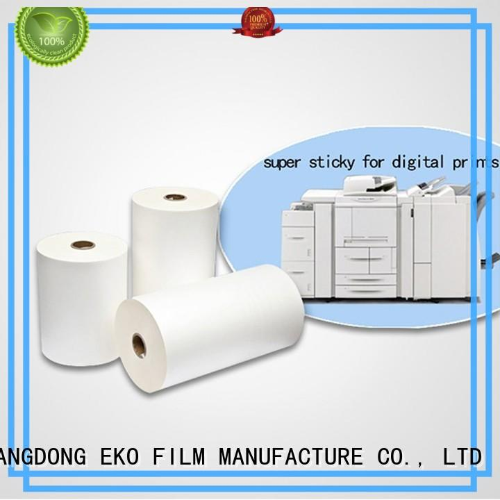 good selling super stick laminating film wholesale for book cover
