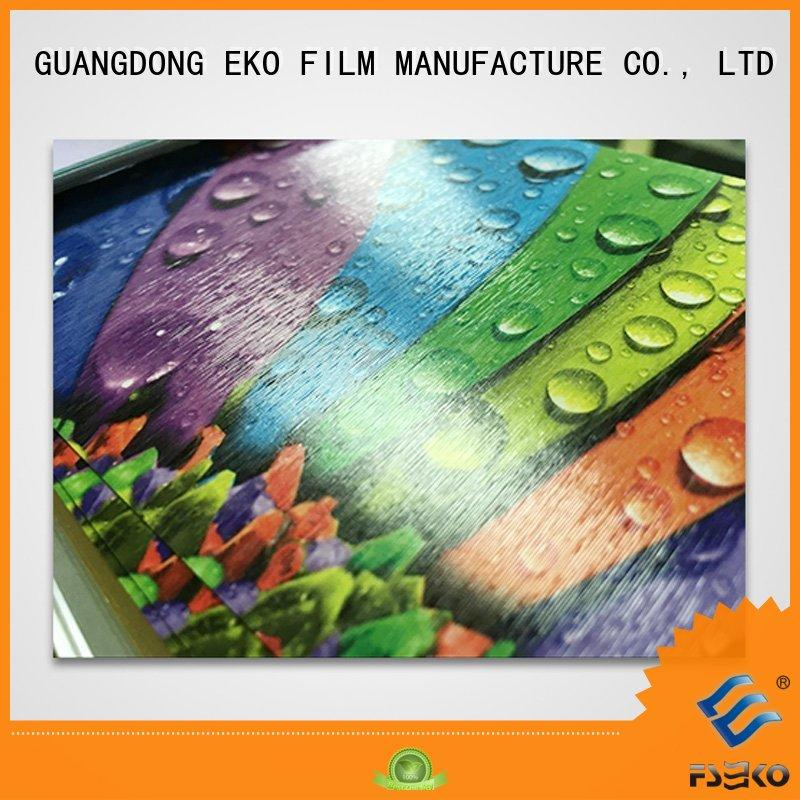 FSEKO hot sale laminating pouch film pgm for book cover