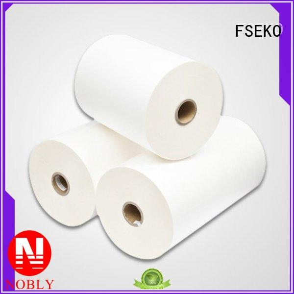 FSEKO Brand glossy bm film bopp thermal lamination film manufacture