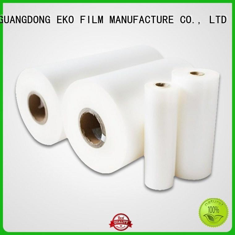 FSEKO Brand supplier bopp thermal lamination film made factory