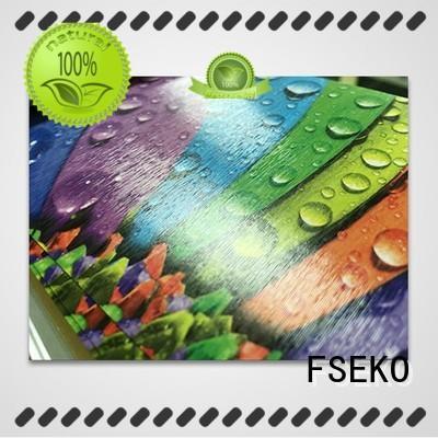 FSEKO new embossed film plm for menu