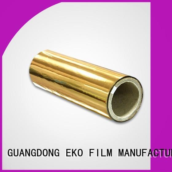 FSEKO metallized polypropylene film in China fo box