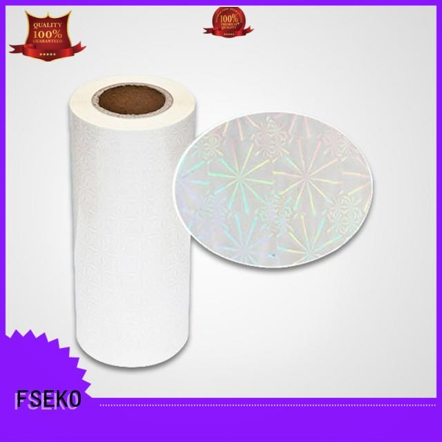 FSEKO best holographic films manufacturers wholesale fo box