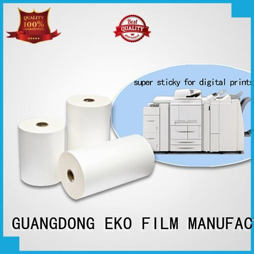 thermal lamination film dbm for book cover