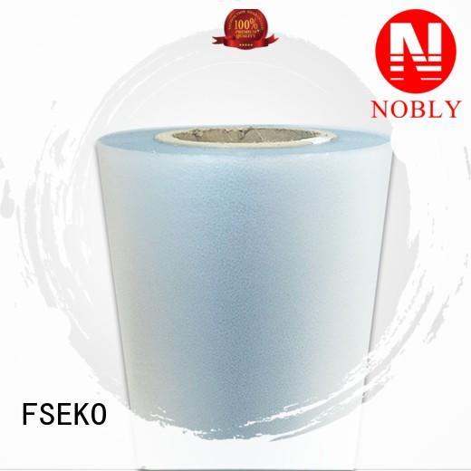 linen plm embossing film thermal FSEKO Brand company