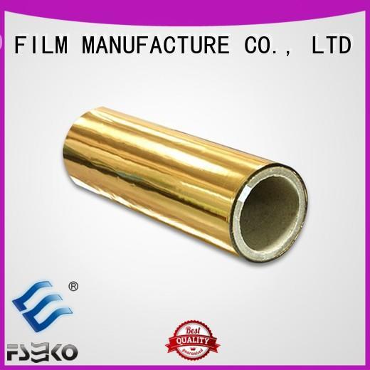 FSEKO hot sale metalized pet film manufacturers pdg for bags
