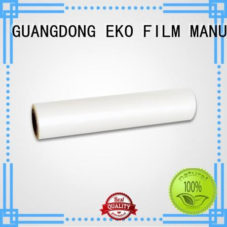 moisture proof pet plastic film on sale for menu