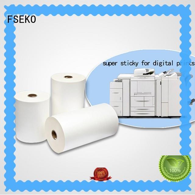 FSEKO high quality scotch laminating film dbm for menu