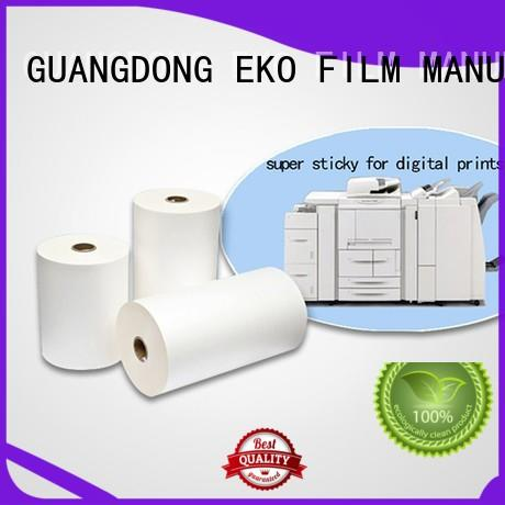 matte dbm super stick laminating film dbg FSEKO company