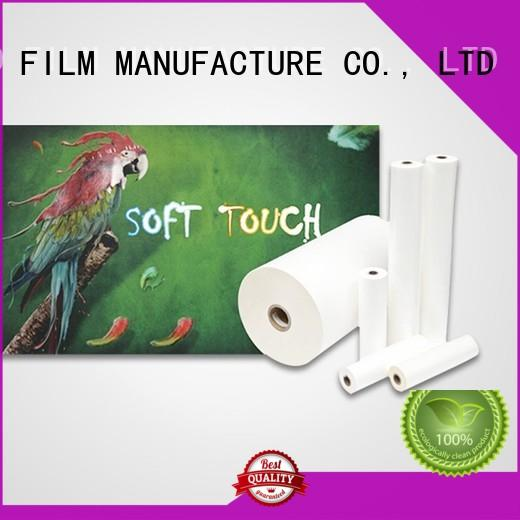 FSEKO soft touch velvet lamination wholesale for poster