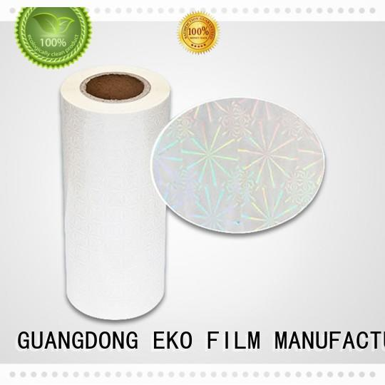 FSEKO holographic film material China for poster