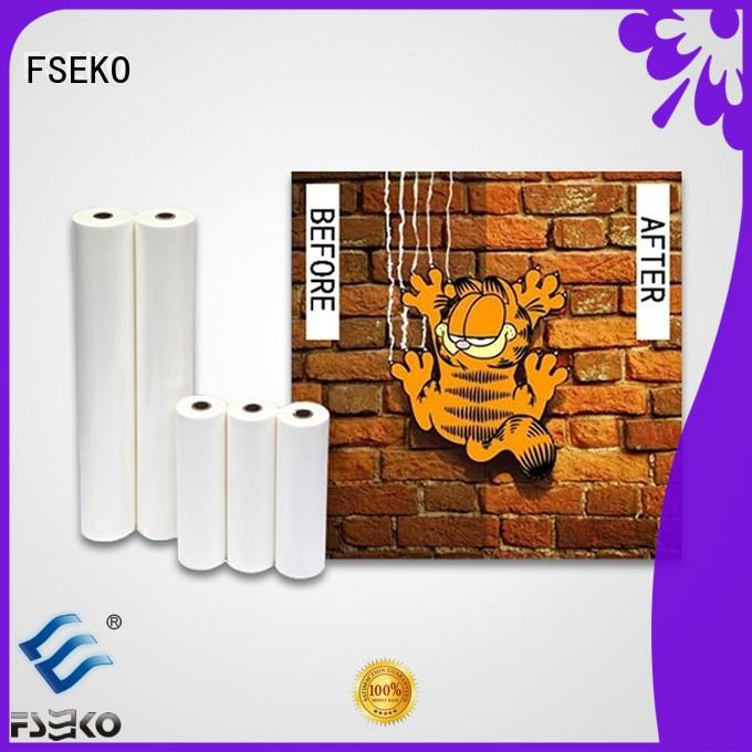 FSEKO scratch resistant laminate manufacturers for poster