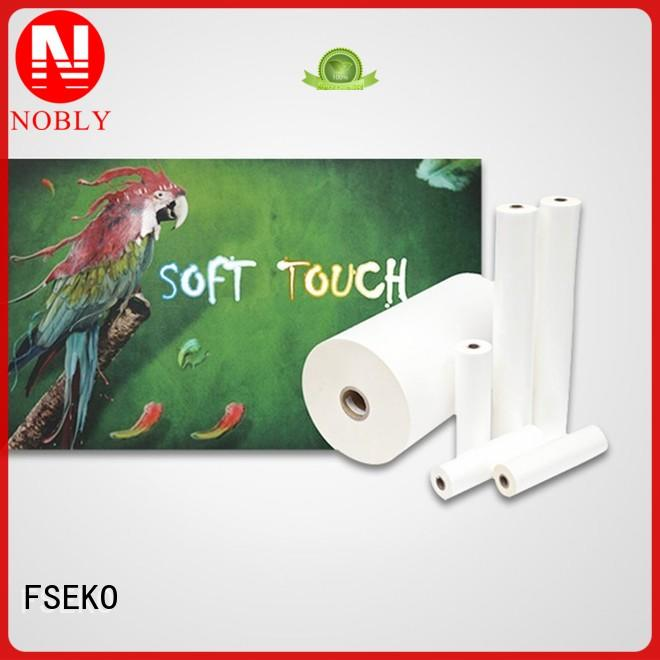 FSEKO Brand soft touch soft touch lamination suppliers film factory