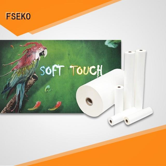 Custom soft touch aqueous factory fo box
