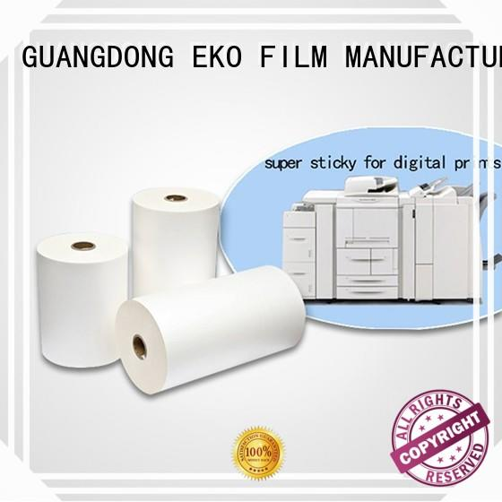 FSEKO high quality thermal lamination film China for bags
