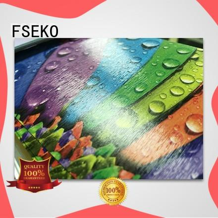 FSEKO high quality embossing film factory for book cover