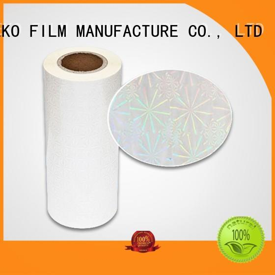 best holographic packaging films factory price for bags