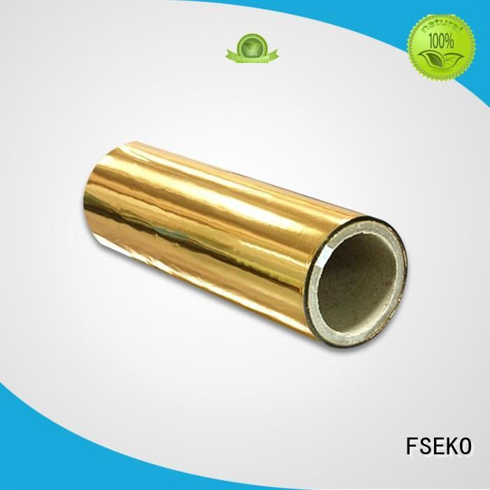 FSEKO Brand sale metalized pds metallised pet film thermal