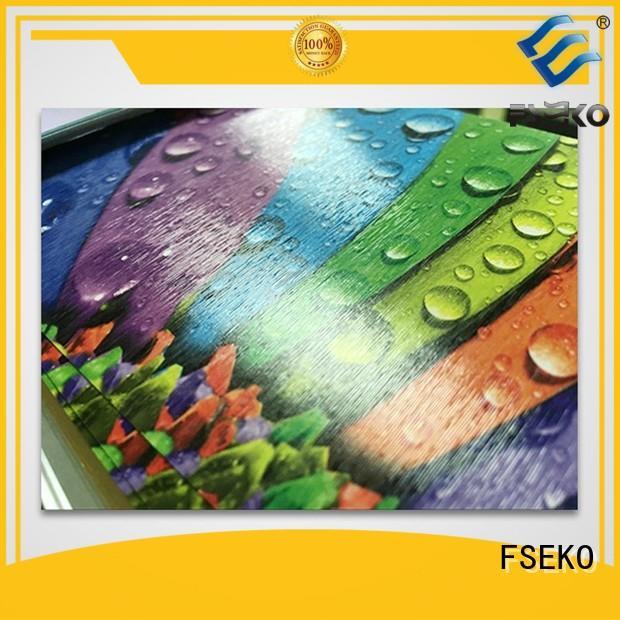 glitter leather linen pgm FSEKO Brand embossing film supplier