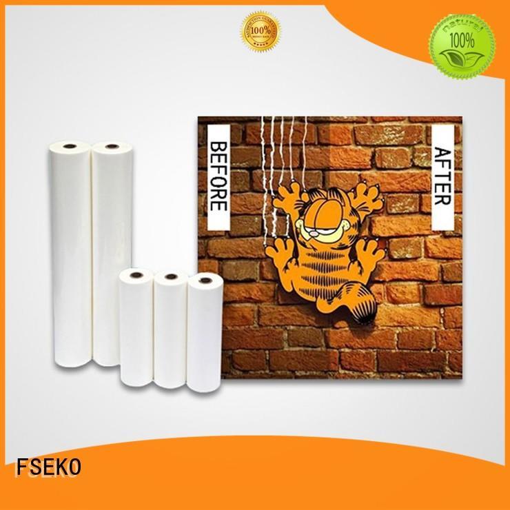 FSEKO laminating film a3 manufacturer for menu