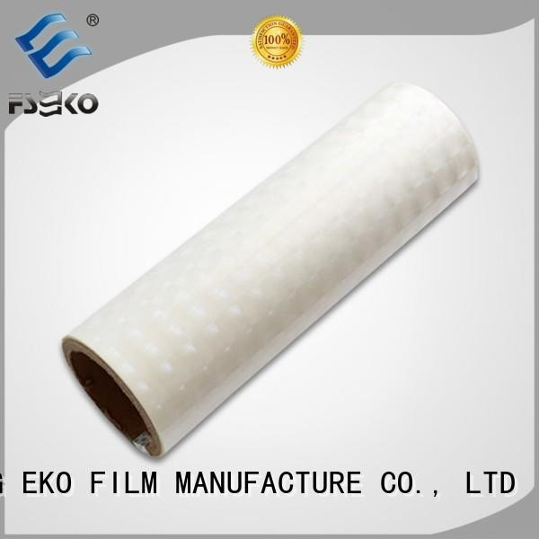 hot sale holographic films manufacturers wholesale for book cover FSEKO