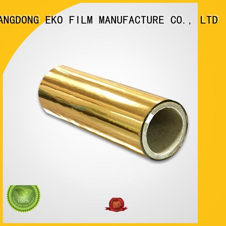 metalized film packaging superior quality fo box FSEKO