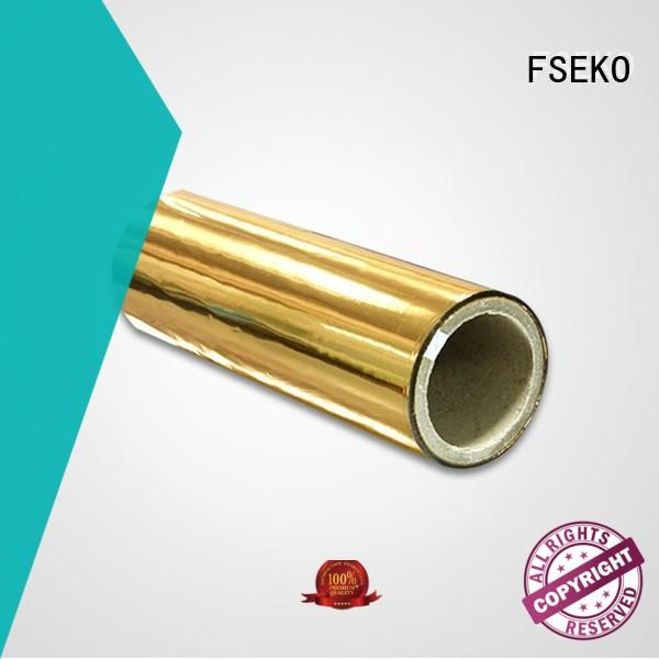 metallised film for menu FSEKO