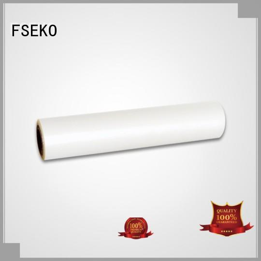 FSEKO excellent pet film sheet designed for menu