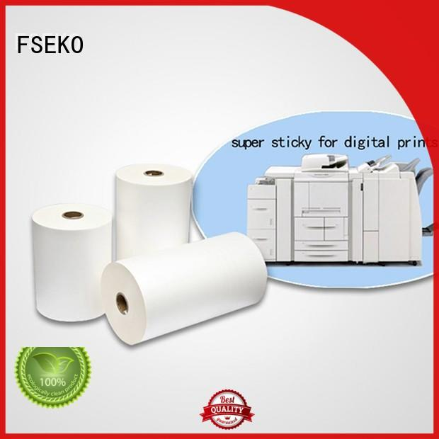 good selling super stick laminating film wholesale for book cover FSEKO