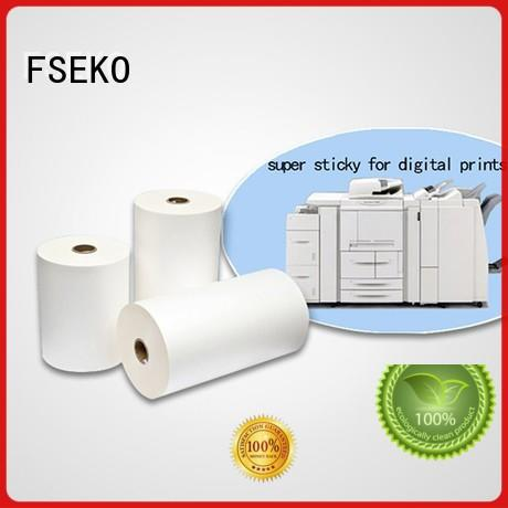 film super stick laminating film dbg super FSEKO company