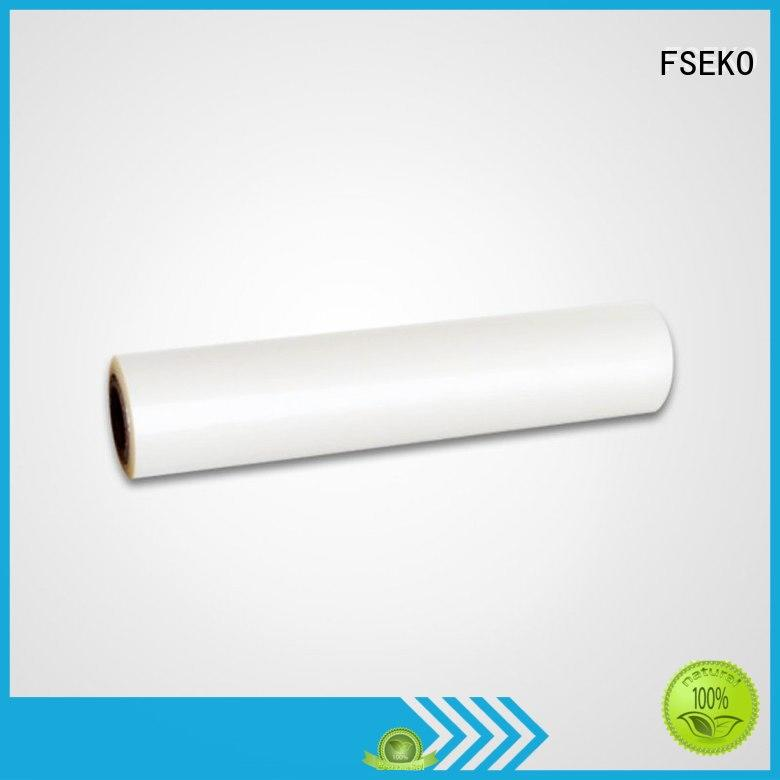 Quality FSEKO Brand pet film roll pg matte