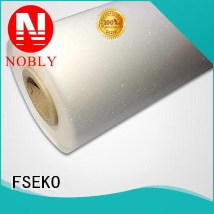 low Custom glitter embossing embossing film FSEKO hairline