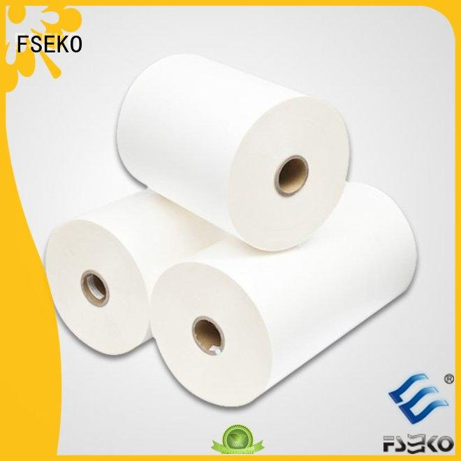 matte bopp supplier bopp thermal lamination film FSEKO Brand company