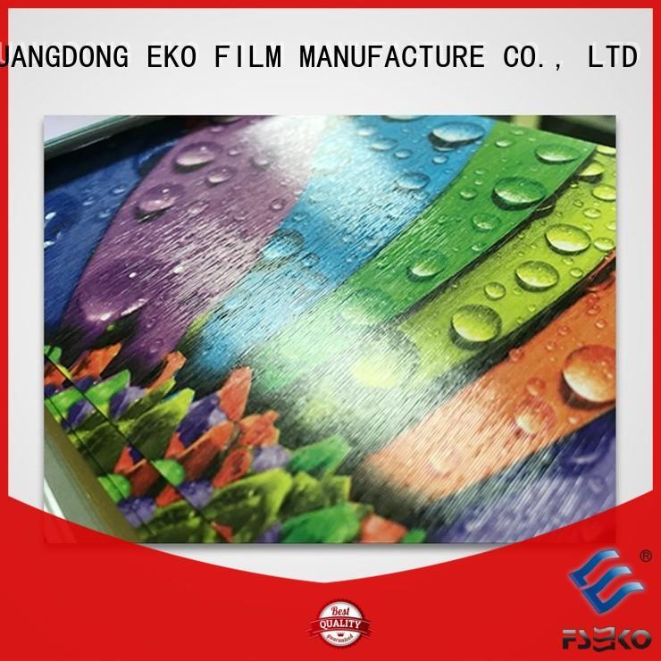 FSEKO embossed film pem for bags
