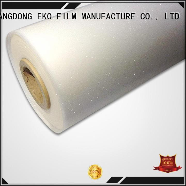 embossed plastic film high quality for poster FSEKO
